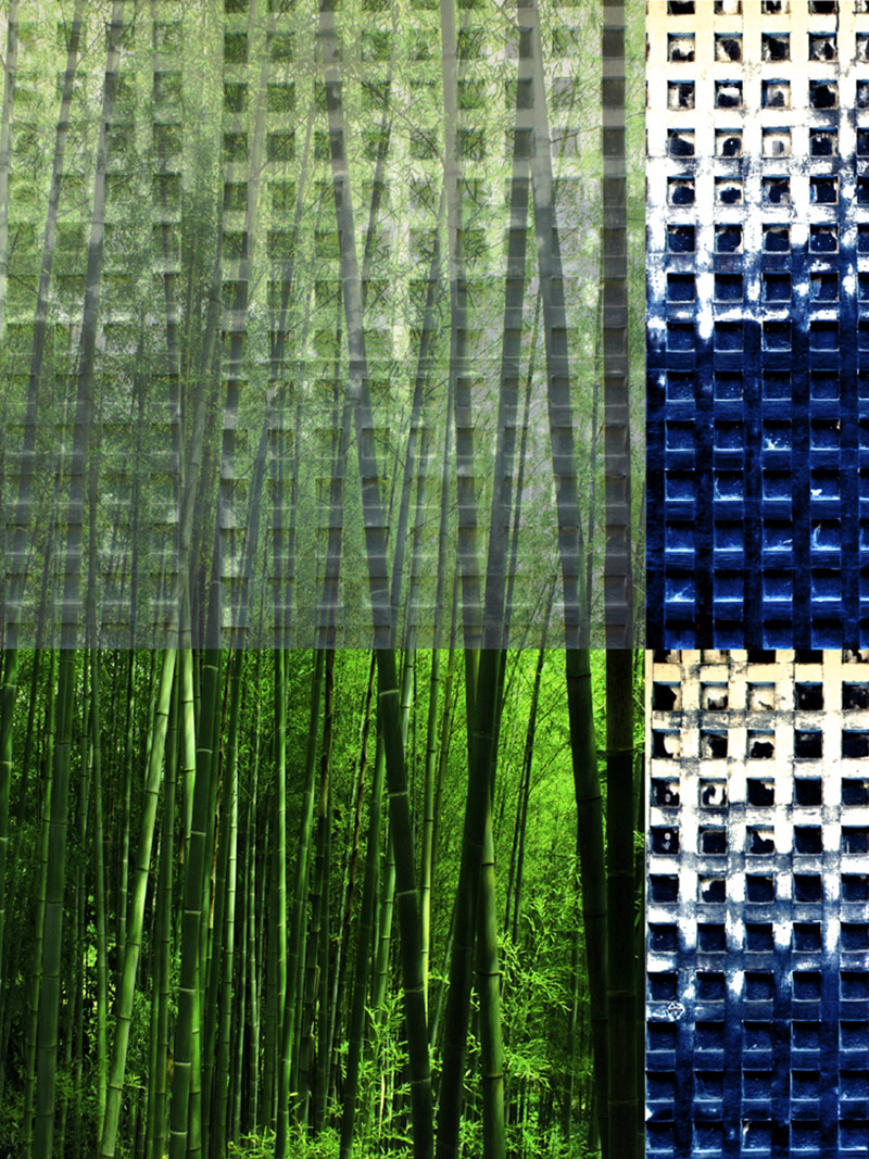 Bamboo and Grating