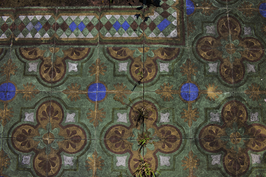 Tile Floor Without Roof
