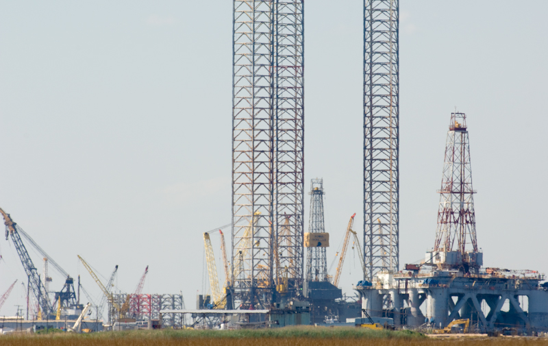 Texas Deep Water Drilling Rigs