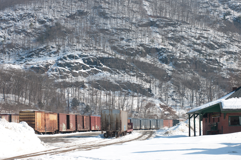 Vermont Switching Yard