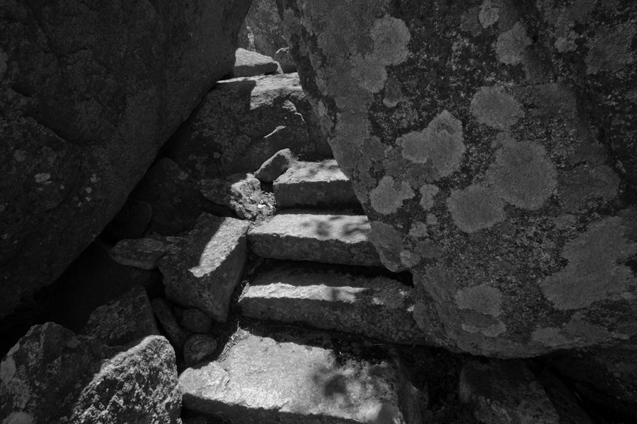 Stairs on Dorr Mountain 3