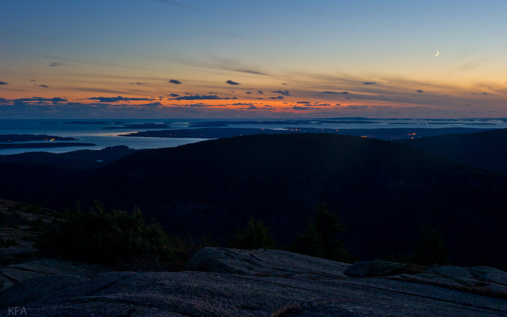 Cadillac Mountain Sunset 2