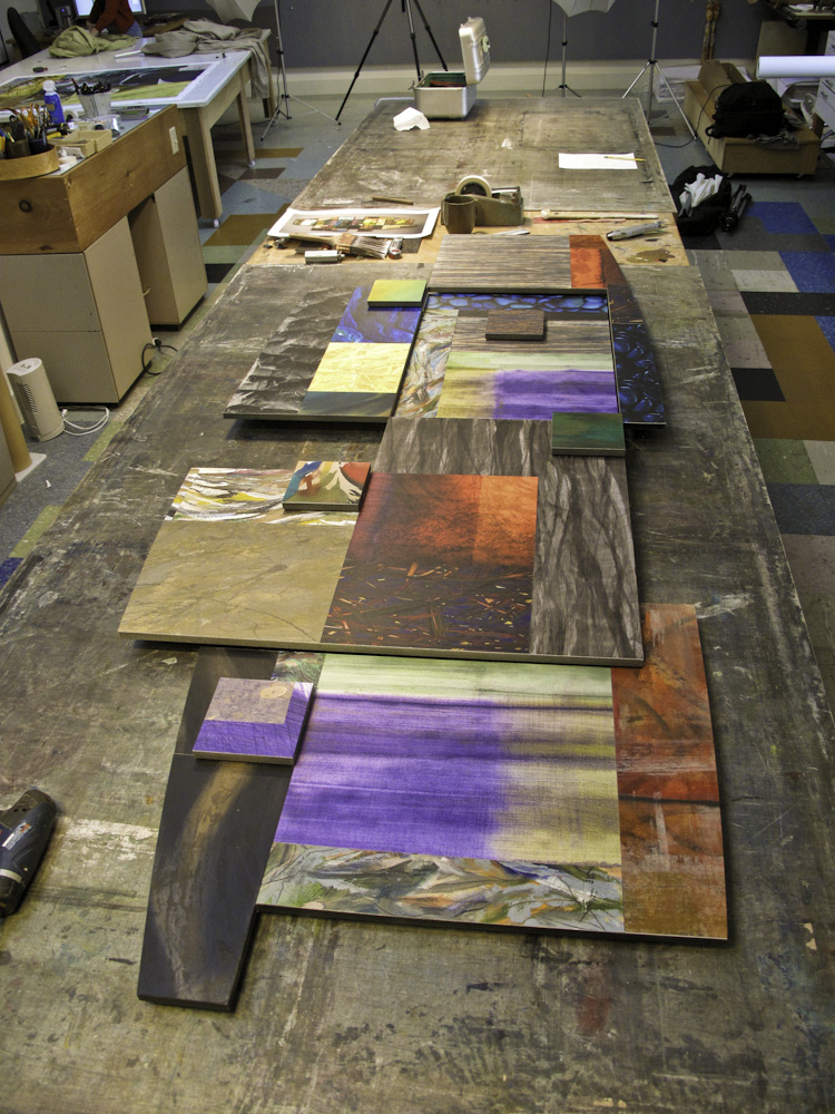 Work Table in Studio 1