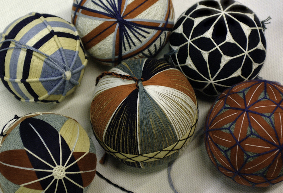 Japanese Yarn Ornaments