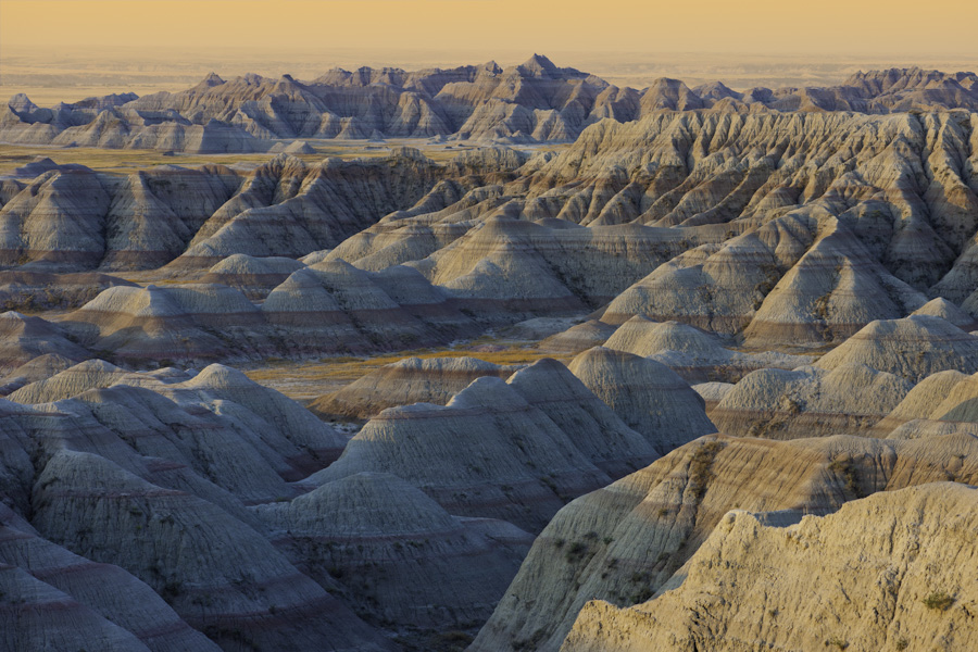 Badlands Dawn View 0678